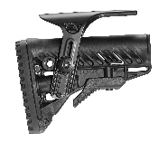 FAB Defense AR15/M4/M16 Butt Stock W/Cheek Rest