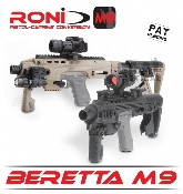 EMA Tactical CAA Tactical Command Arms RONI-Beretta M9/92 Black