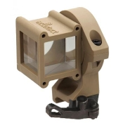 Accutact Angle Positive Lock Quick Release Sight Tan ASPLQRDT