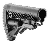 FAB Defense AR15/M4/M16 Butt Stock WO/Cheek Piece