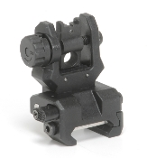 Command Arms Tactical FRS Low profile rear flip-up sight