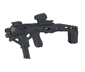 Command Arms Industries Micro Roni 4X w/Arm Brace For Glock